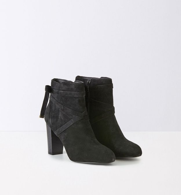 Bottines noires Promod