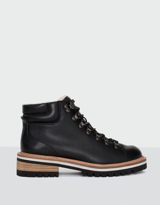 Bottines noires Pull & Bear
