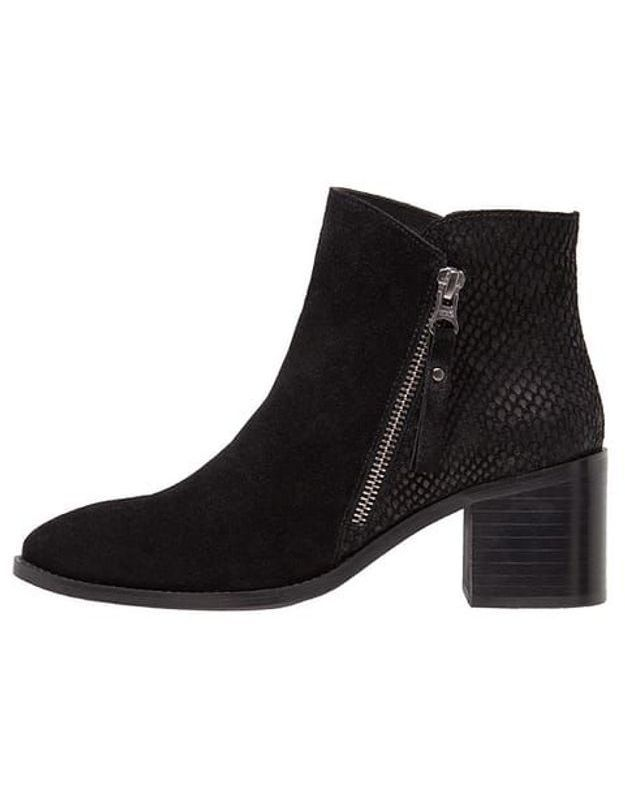 Bottines noires Zign