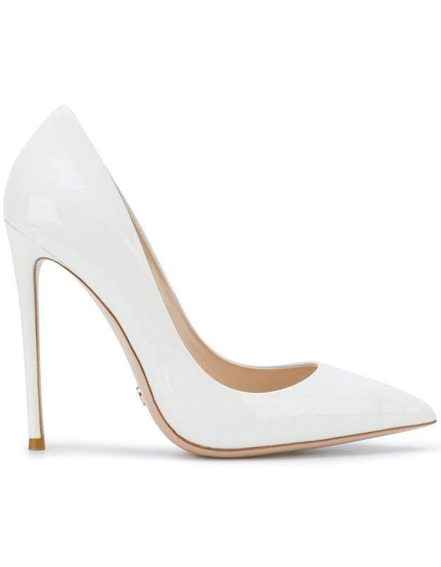 Chaussures blanches Gianni Renzi