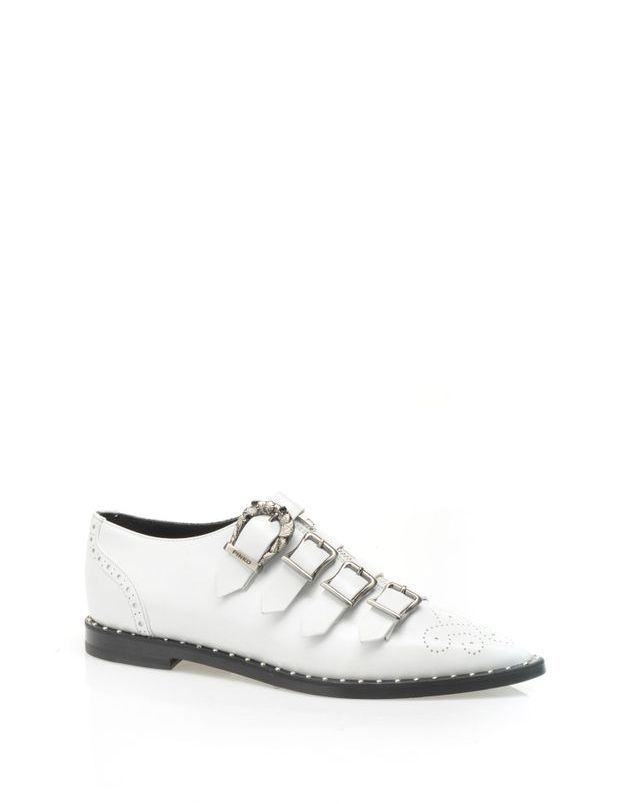 Chaussures blanches Pinko