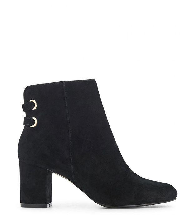 Chaussures sexy boots à talons lacés Minelli