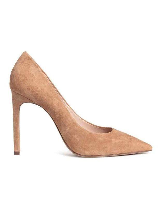 Chaussures sexy escarpins suédés H&M