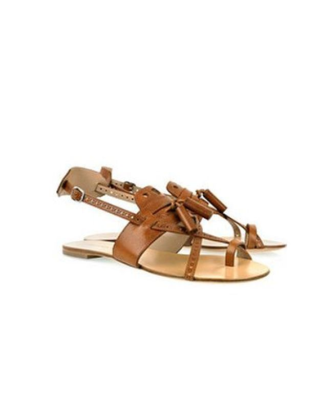 Mode guide shopping tendance accessoire chaussues sandales plates Proenza Schouler