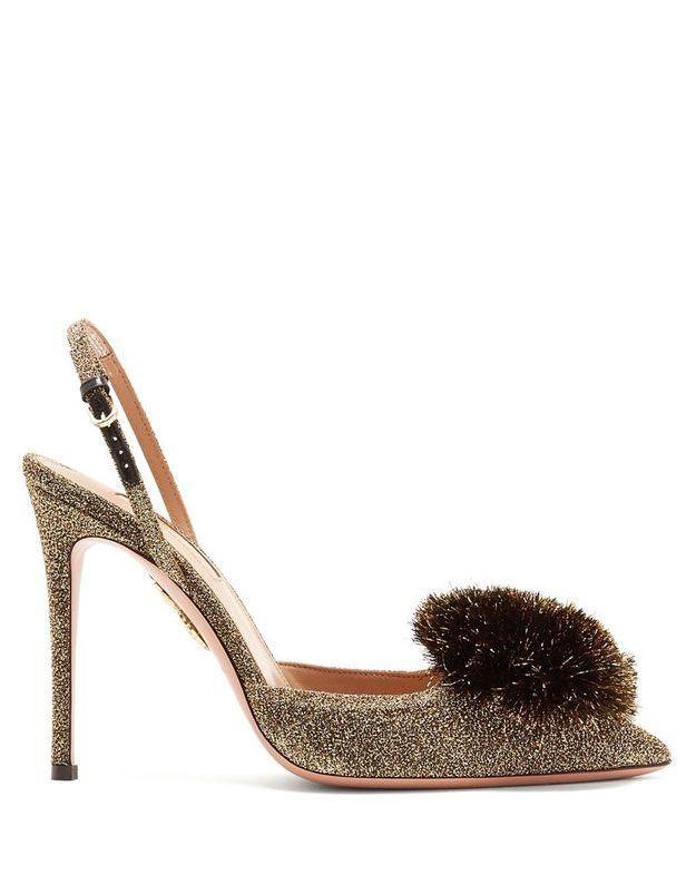 Chaussures à paillettes Aquazzura