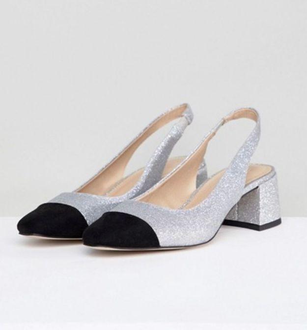 Chaussures à paillettes Asos