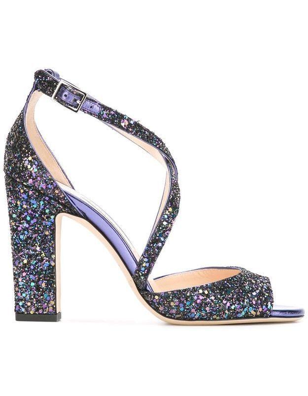 Chaussures à paillettes Jimmy Choo