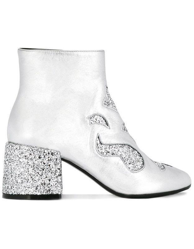 Chaussures à paillettes MM6 Maison Margiela