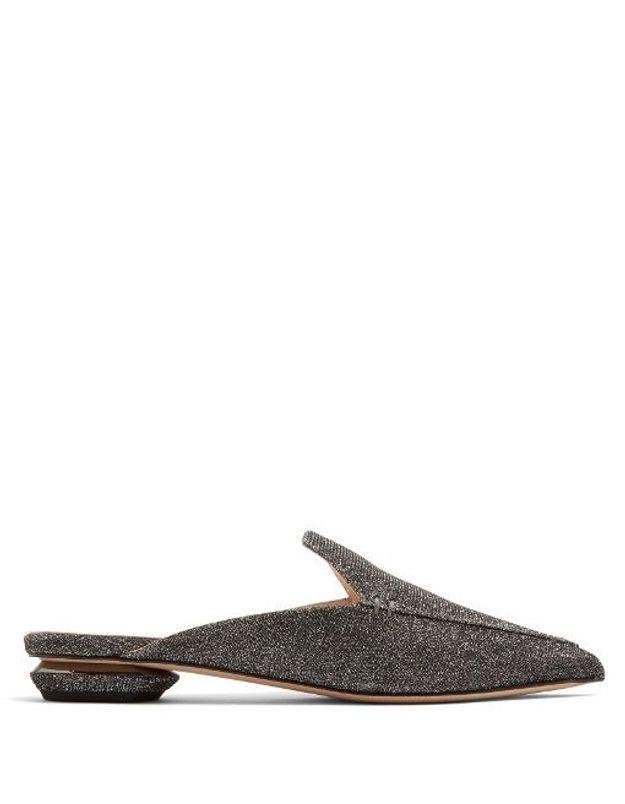 Chaussures à paillettes Nicholas Kirkwood