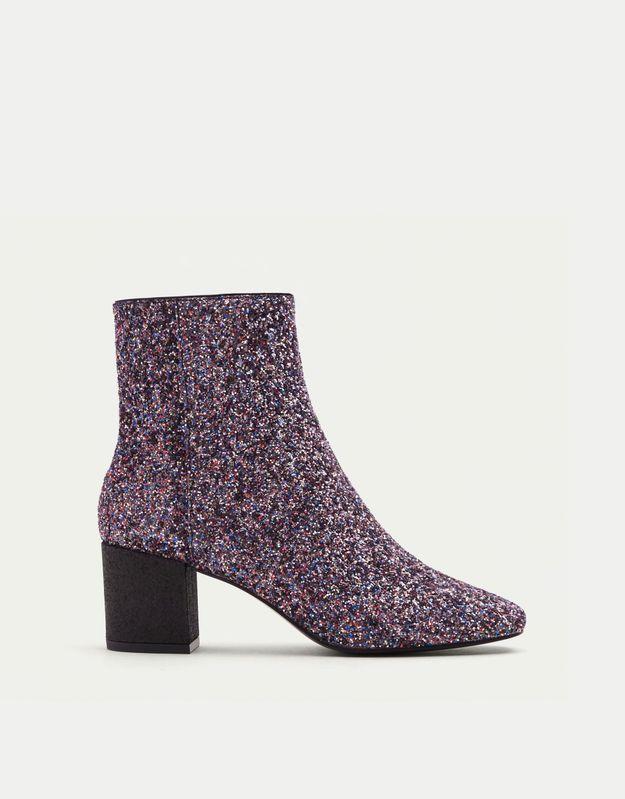 Chaussures à paillettes Pull & Bear