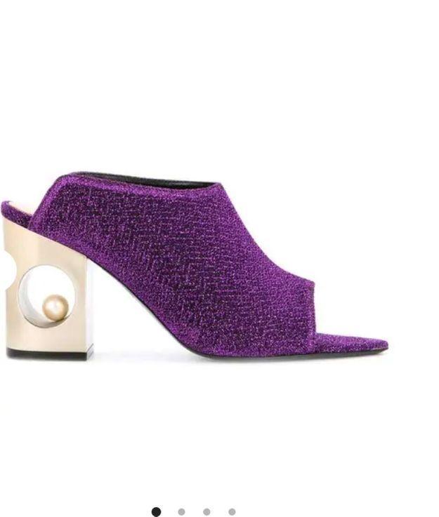 Chaussures à paillettes Coliac