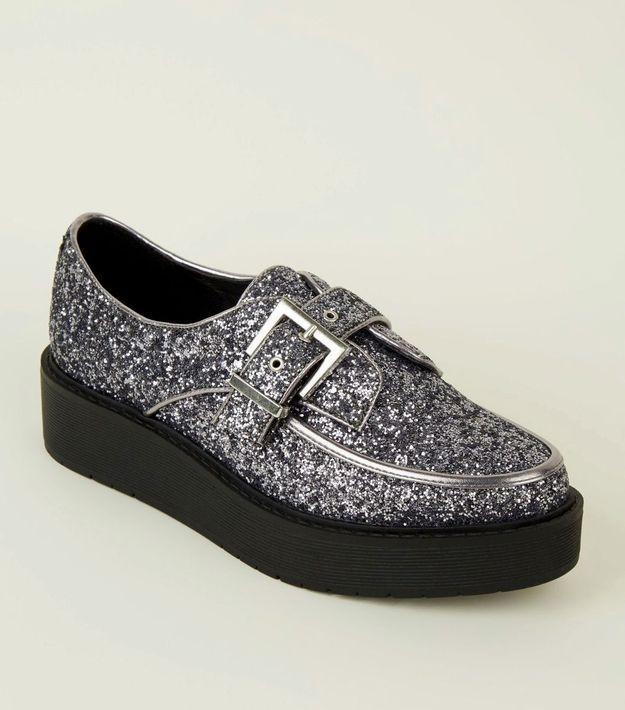 Chaussures à paillettes New Look
