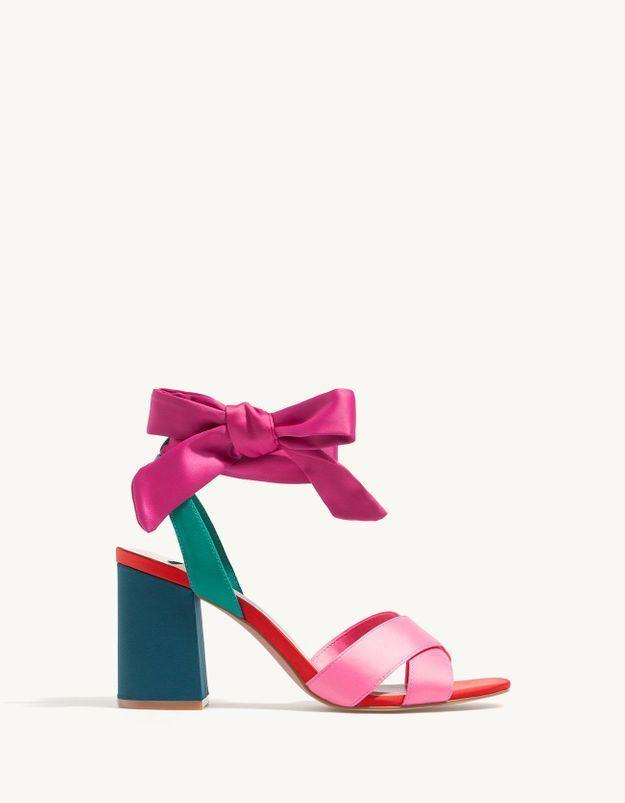 Chaussures d'été Stradivarius
