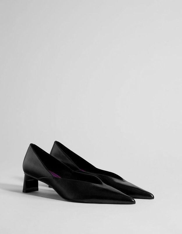 Escarpins noirs Bershka