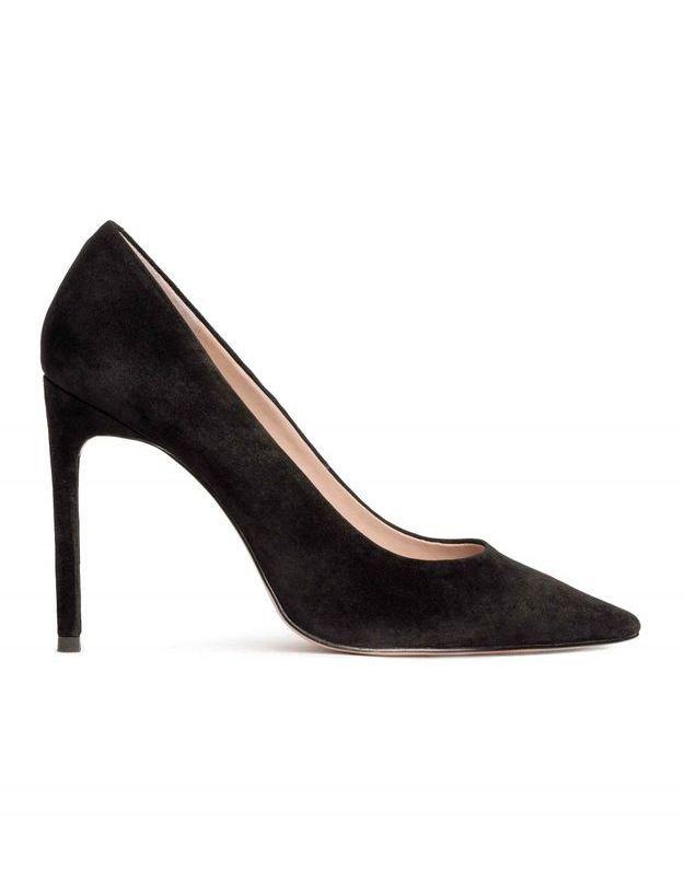 Escarpins noirs pointus H&M