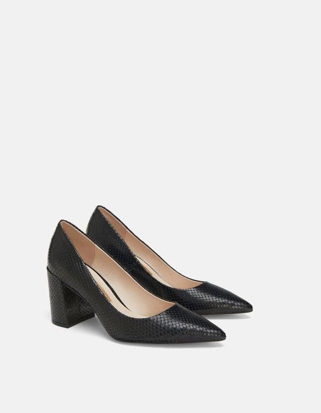 Escarpins noirs Zara