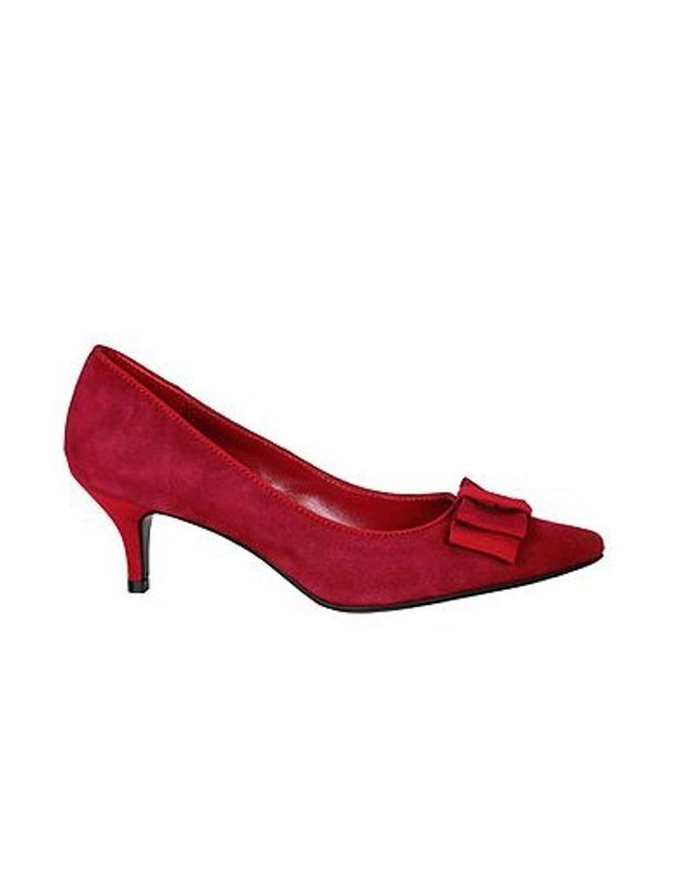 Mode guide shopping tendance chaussure dame escarpin Andre rouge