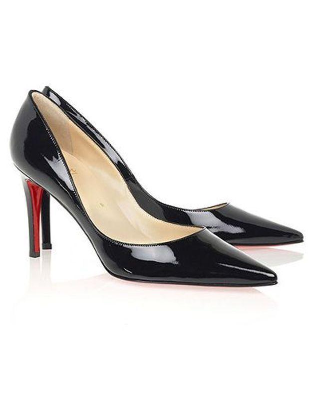 Mode guide shopping tendance chaussure dame escarpin louboutin