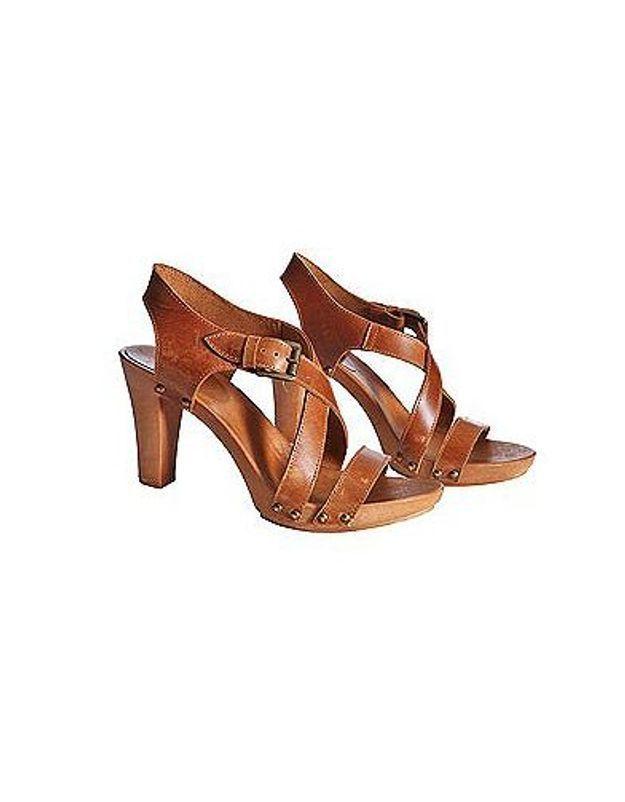 Mode guide shopping tendance chaussures talon bois etam