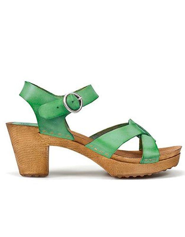 Mode guide shopping tendance chaussures talon bois zara
