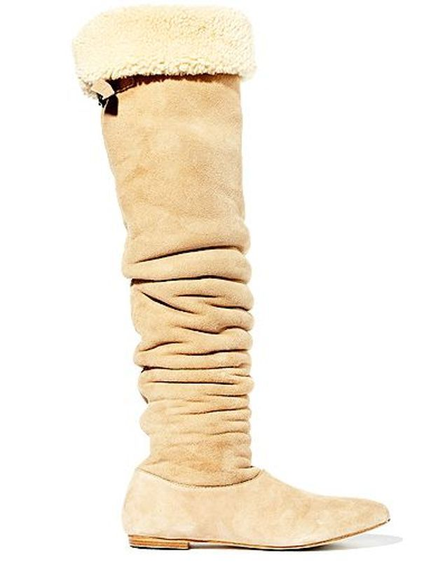 Mode guide shopping tendance look chaussures boots fourrees Paul Joe