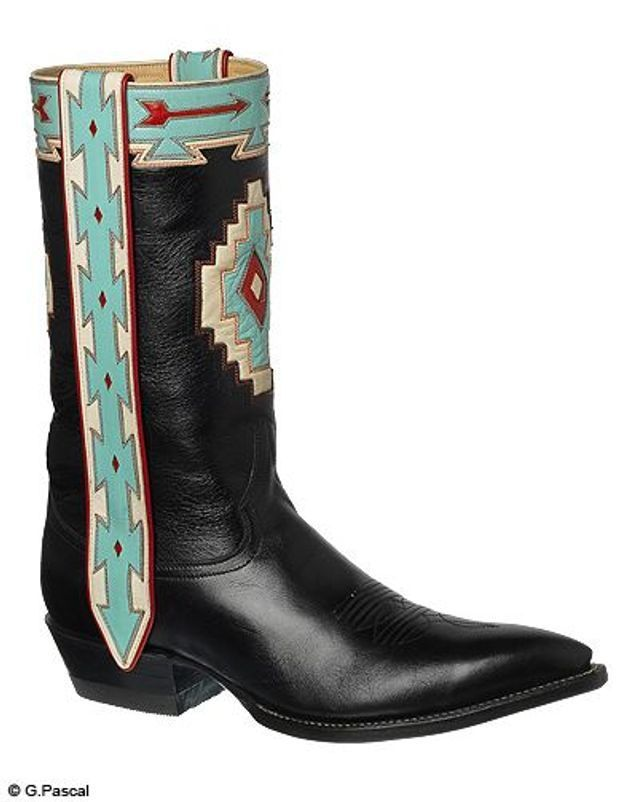 Mode guide shopping tendance look bottes santiags cow boy rocketbuster