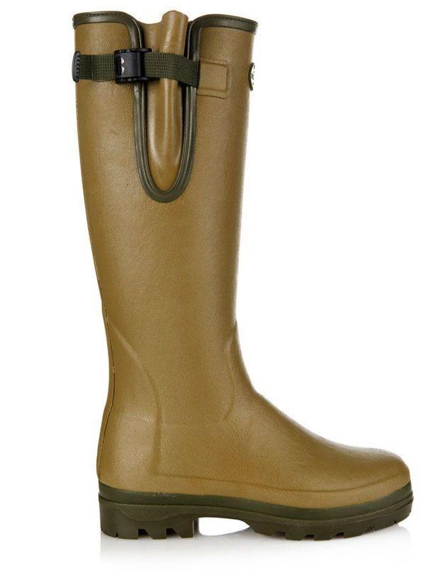 Bottes de pluie kaki Le Chameau