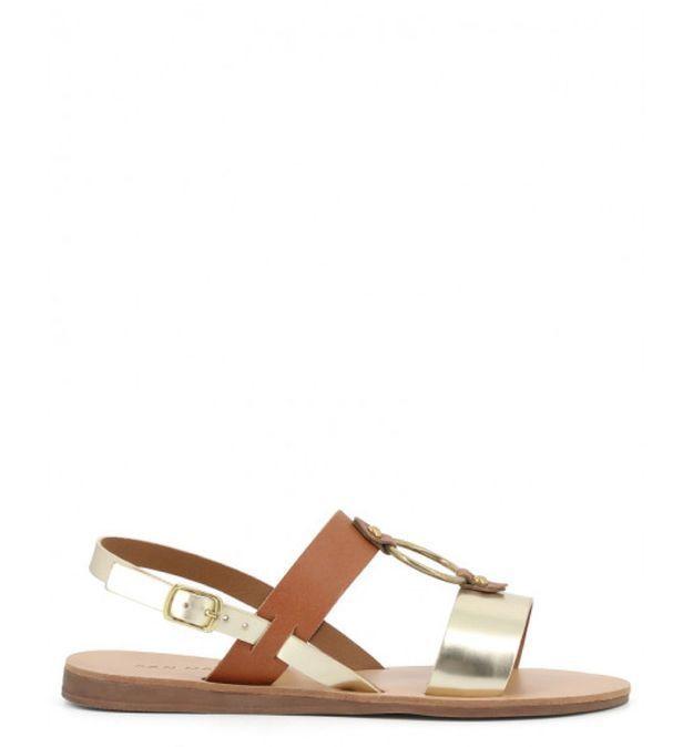 Sandales plates San Marina