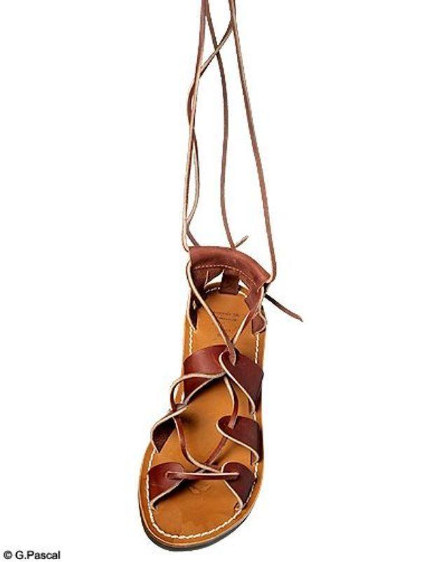 Mode guide shopping tenadance chaussures spartiates la botte gardiane