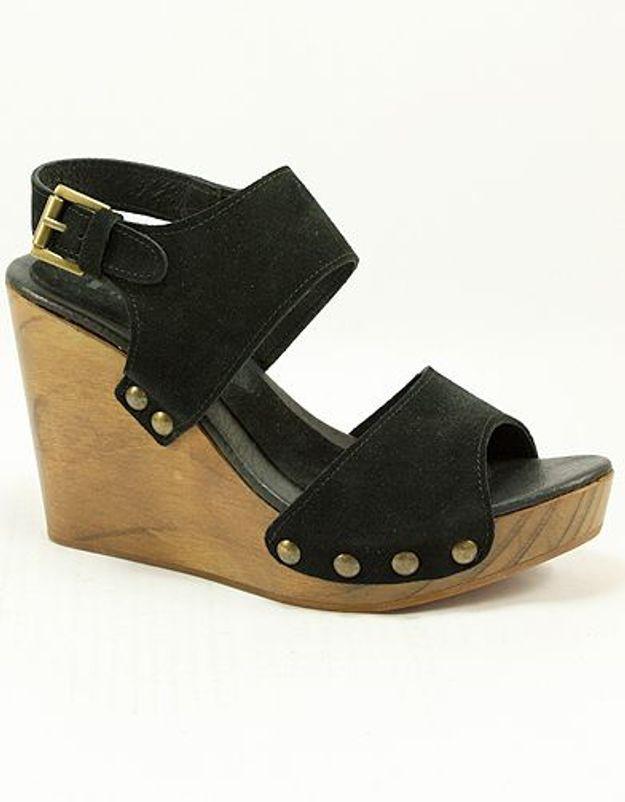 Mode guide shopping tendance chaussures talon bois Emma Go