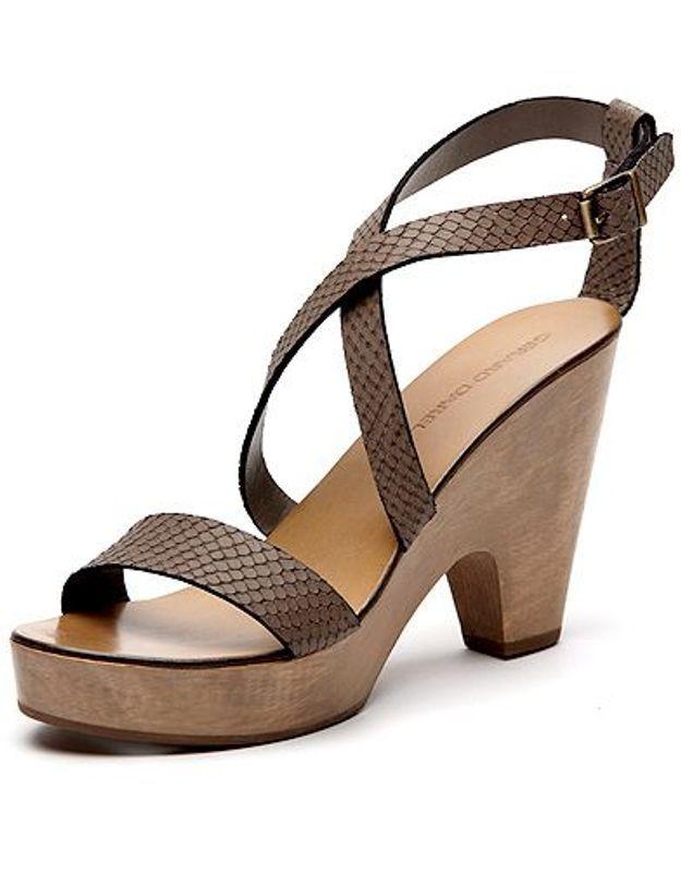 Mode guide shopping tendance chaussures talon bois gerard darel