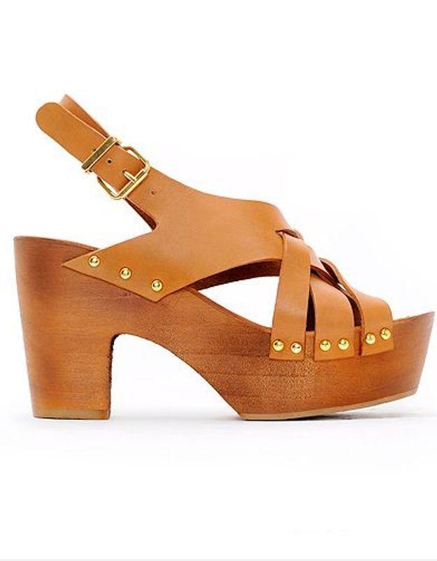 Mode guide shopping tendance chaussures talon bois mango1