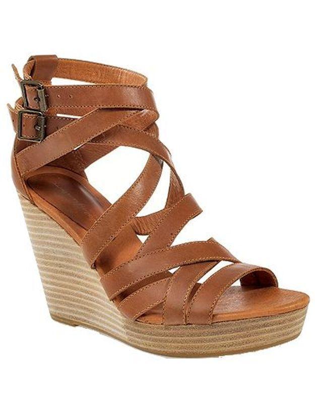 Mode guide shopping tendance chaussures talon bois mellow yellow