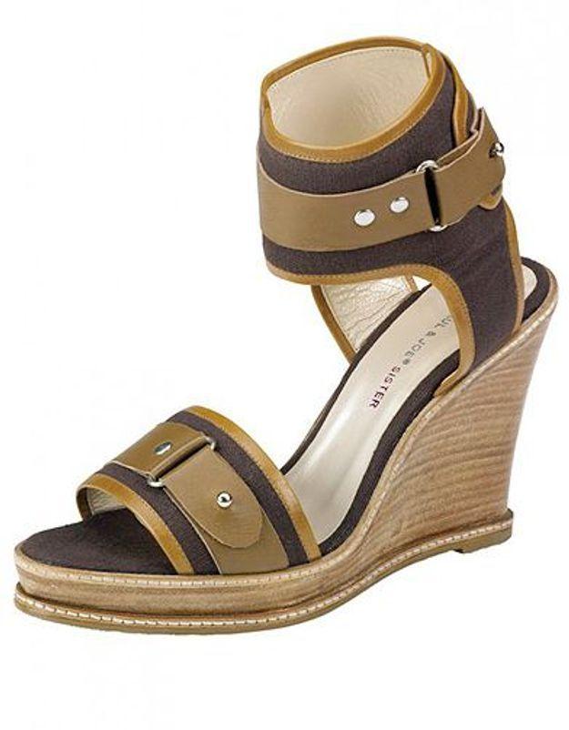 Mode guide shopping tendance chaussures talon bois paul joe sister