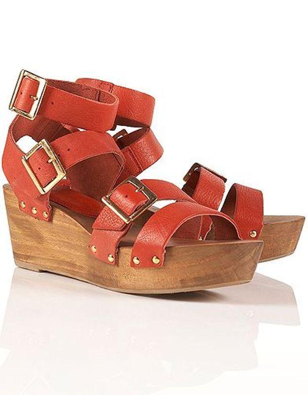 Mode guide shopping tendance chaussures talon bois wonda