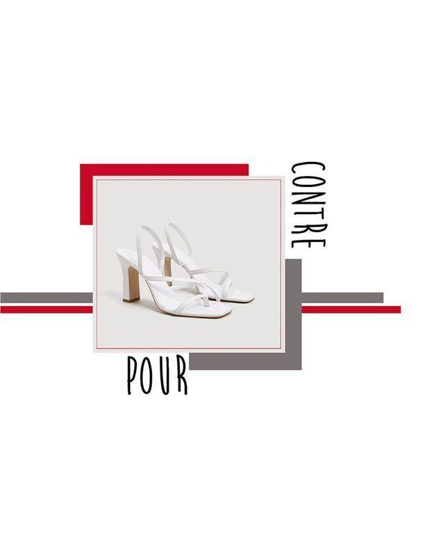 Pour ou contre : les sandales à bout carré