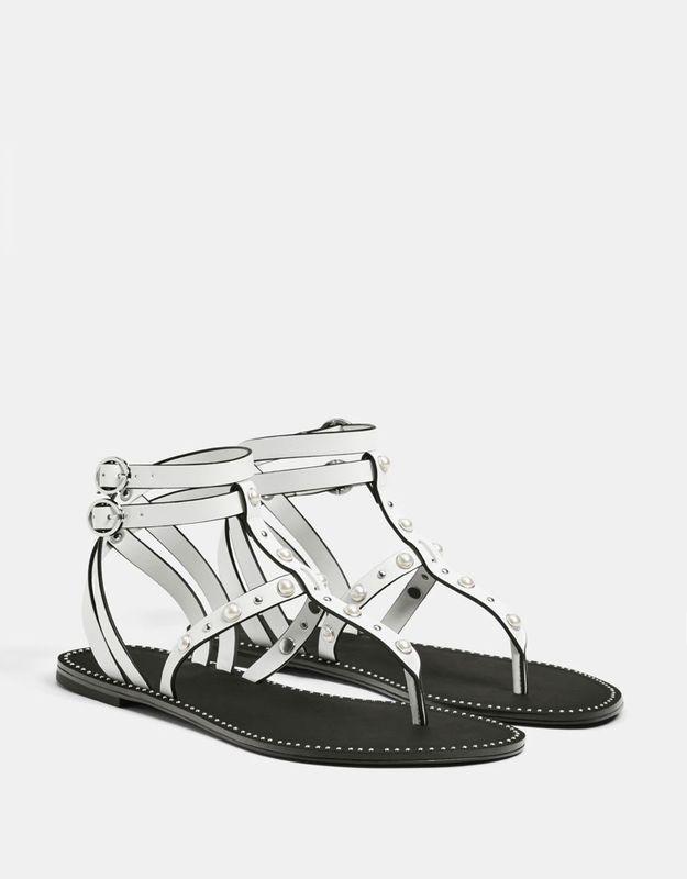 Sandales soldées Bershka