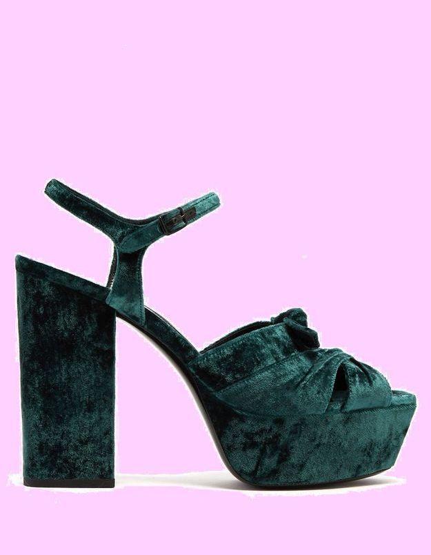 Sandales à talons Saint Laurent