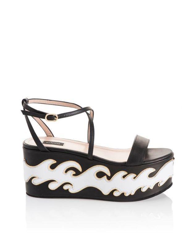 Sandales à plateforme Pinko