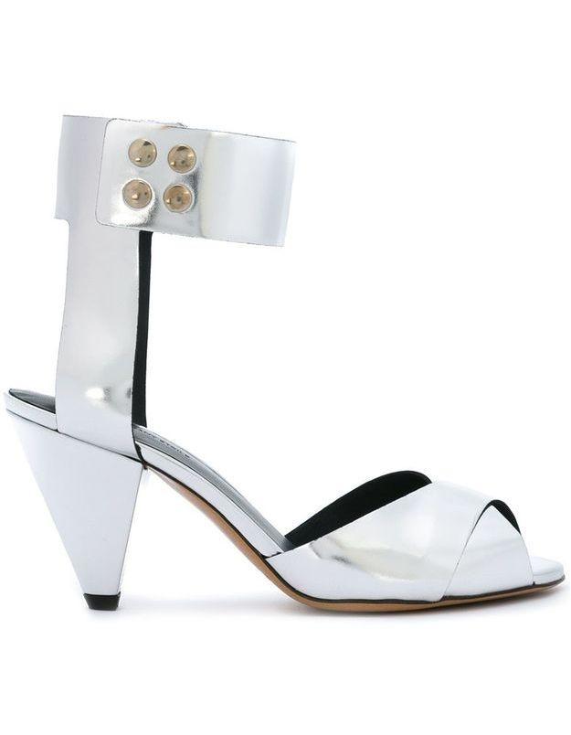 Sandales à boutons Isabel Marant