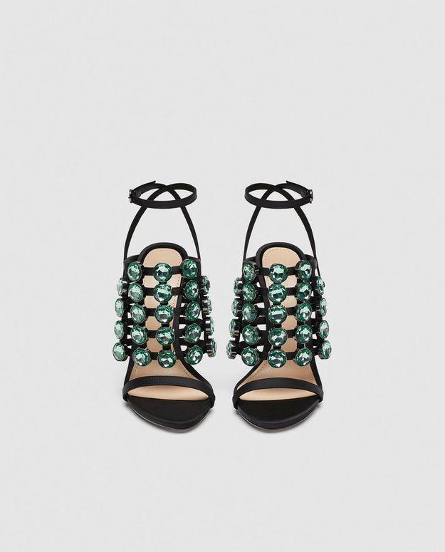Chaussures bijoux Zara
