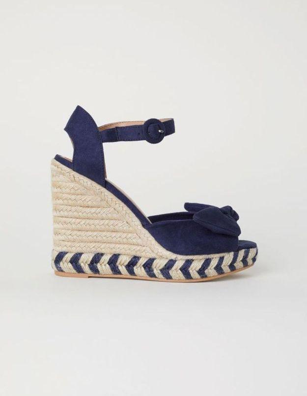 Chaussures compensées H&M