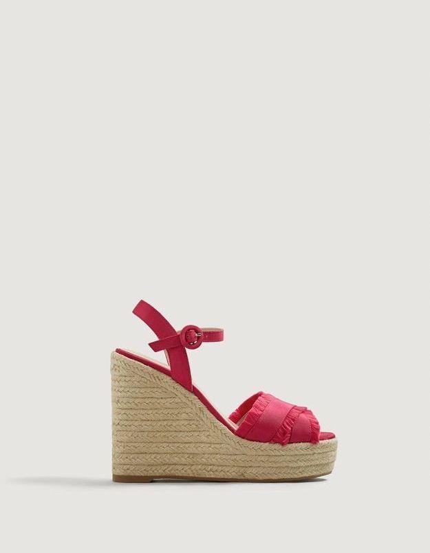 Chaussures compensées Mango