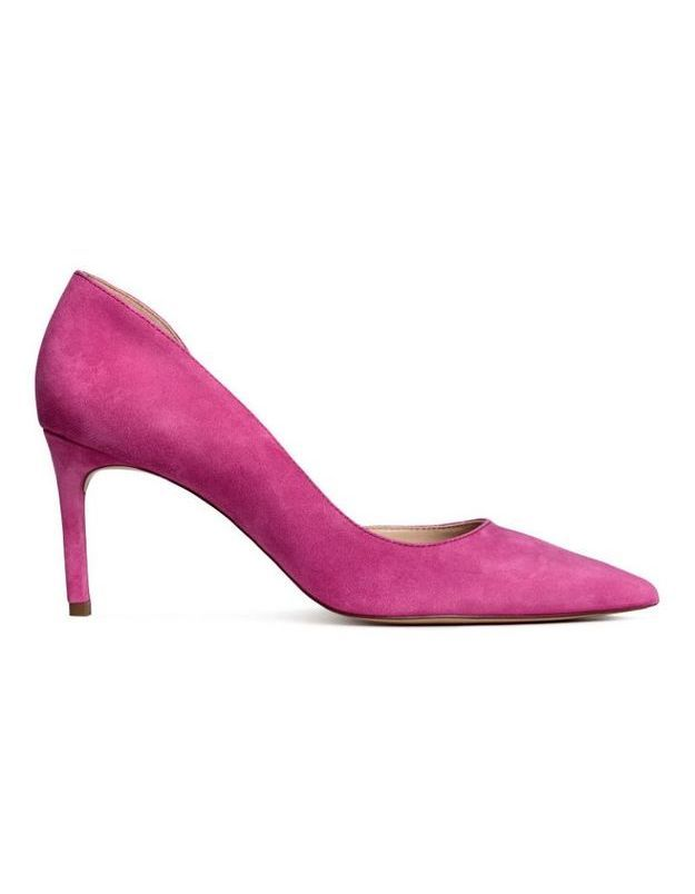 Chaussures rose H&M