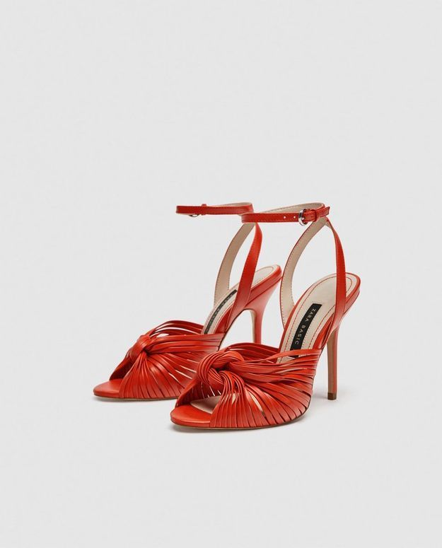 Chaussures rouges Zara
