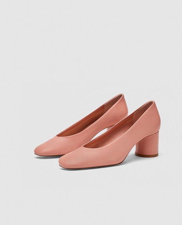 Chaussures Zara rose