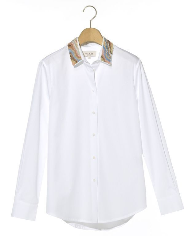 La chemise brodée