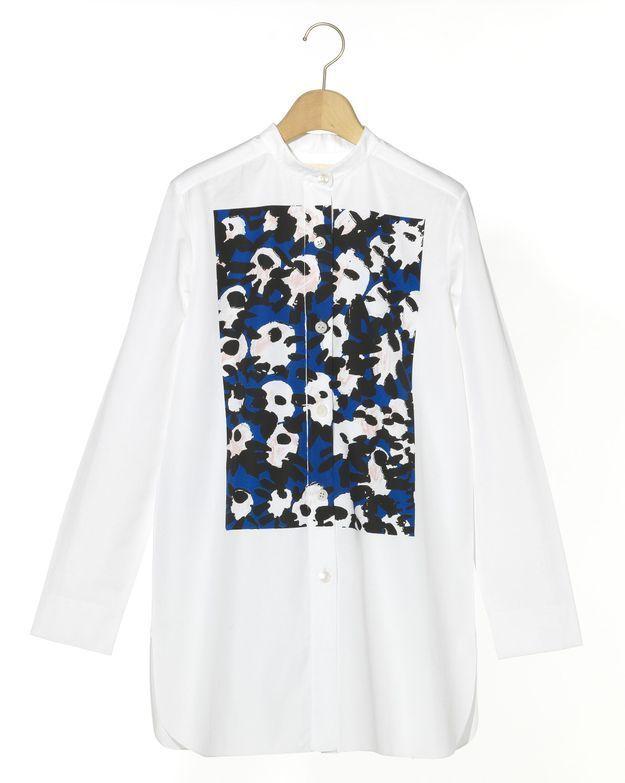 La chemise imprimée