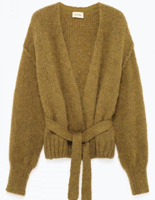 Gilet en laine American Vintage