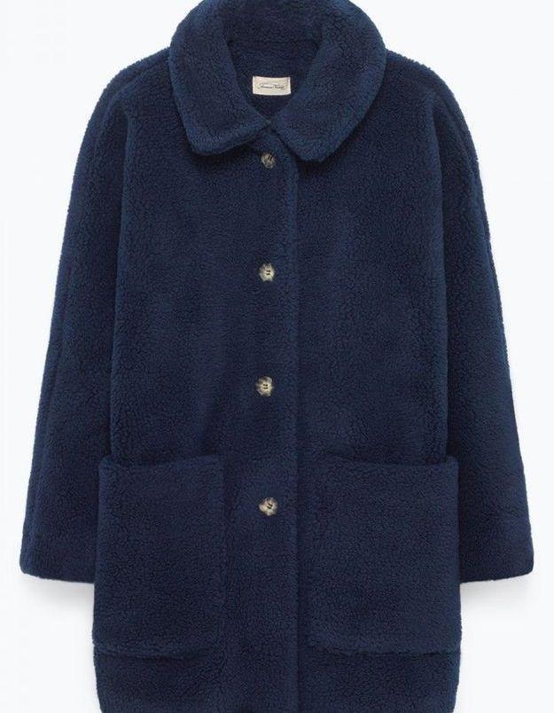Manteau molletoné American Vintage